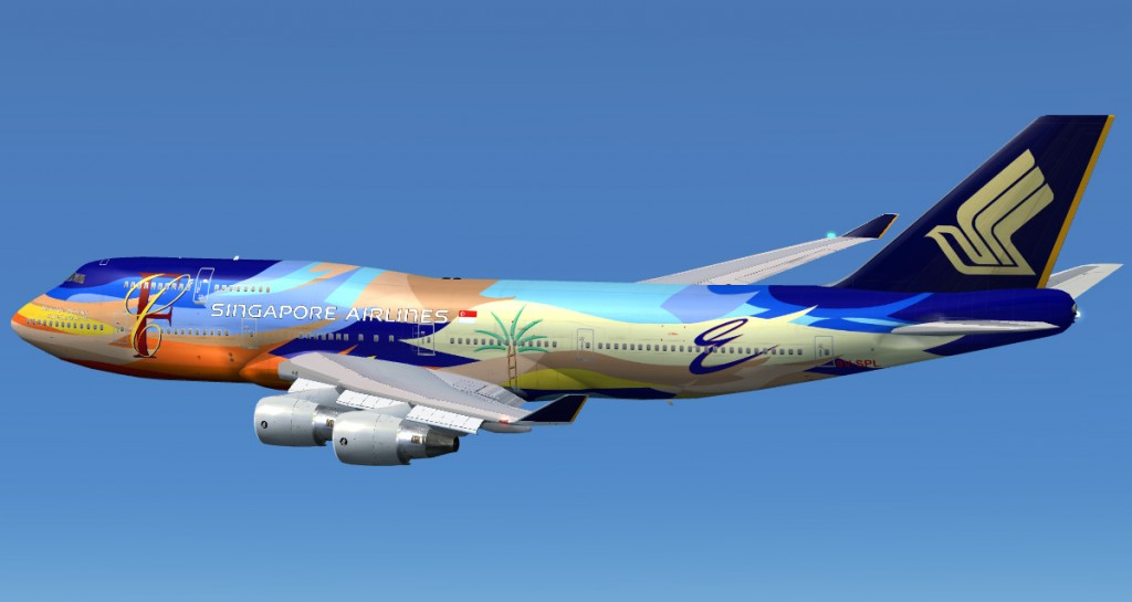 Flying On Singapore Air
