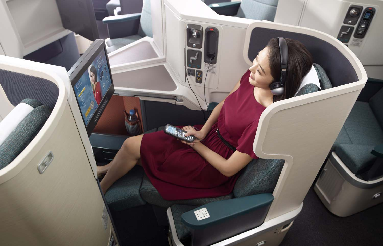 Cathay Pacific - TopBusinessClass.com
