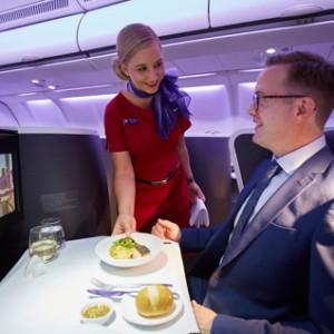 Business Class Flights on Virgin Australia